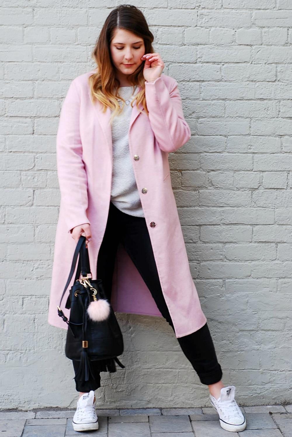 Pink Jacket Topshop