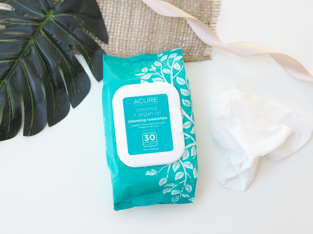 ACURE Coconut Argan + Oil Cleansing Towelettes Review