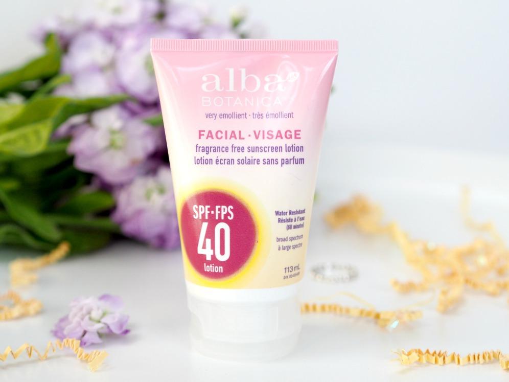 Alba Botanica Sunscreen Face Review