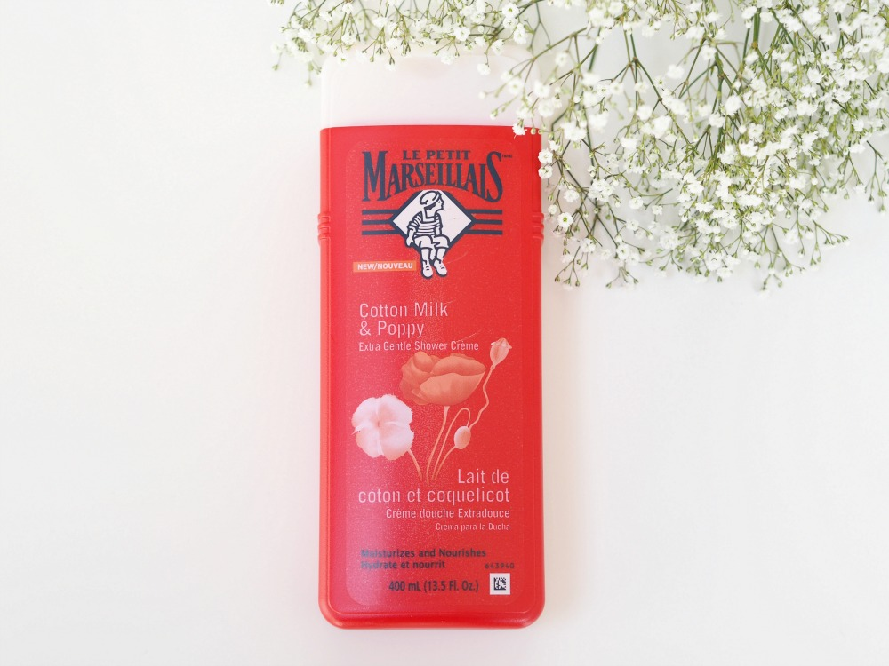 Le Petit Marseillais Cotton Milk Poppy review