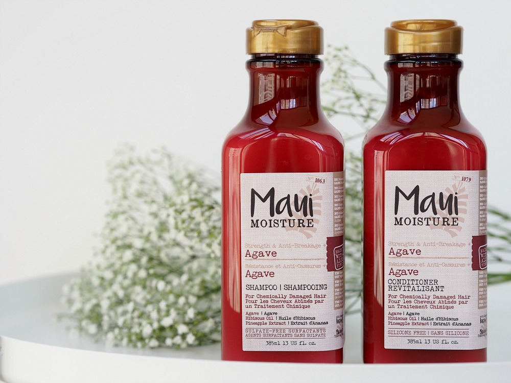 Maui Moisture Agave Shampoo Conditioner Review