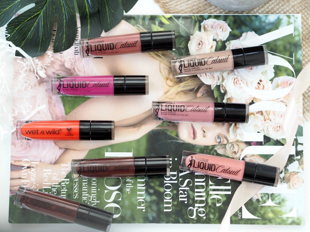 Wet'n'Wild Liquid Catsuit Matte Lipsticks Review