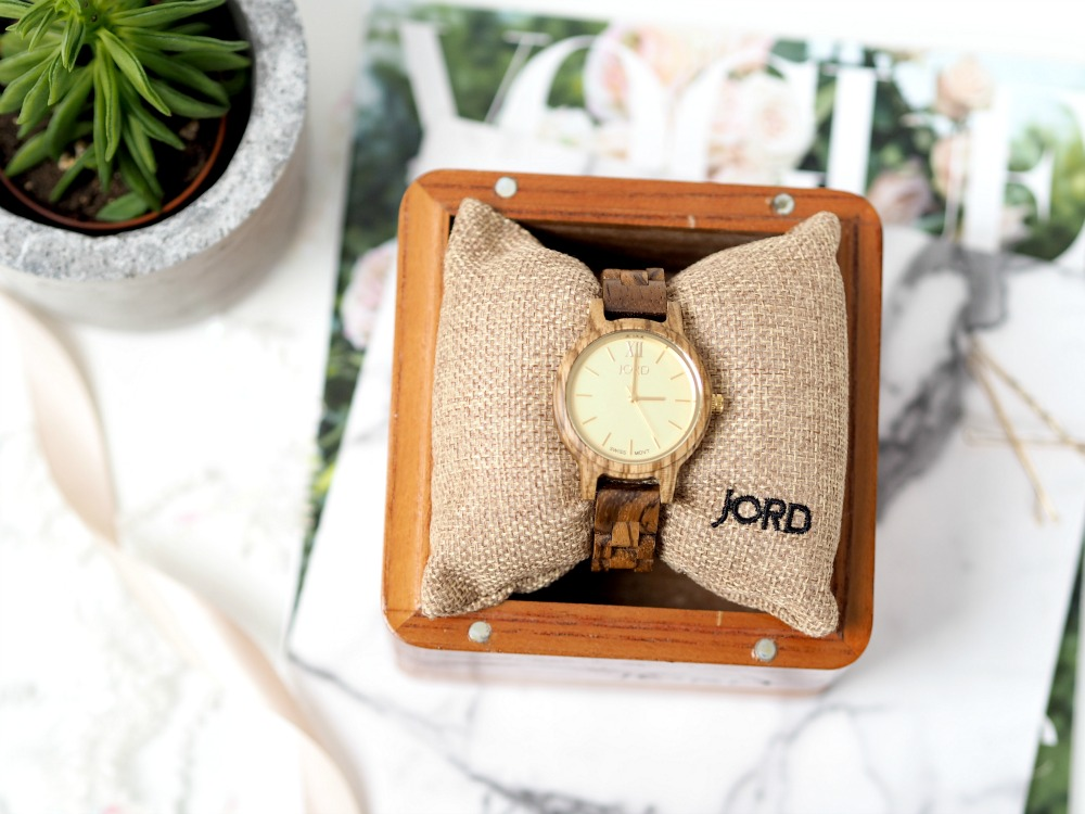 JORD Frankie 35 Zebrawood Watch Review