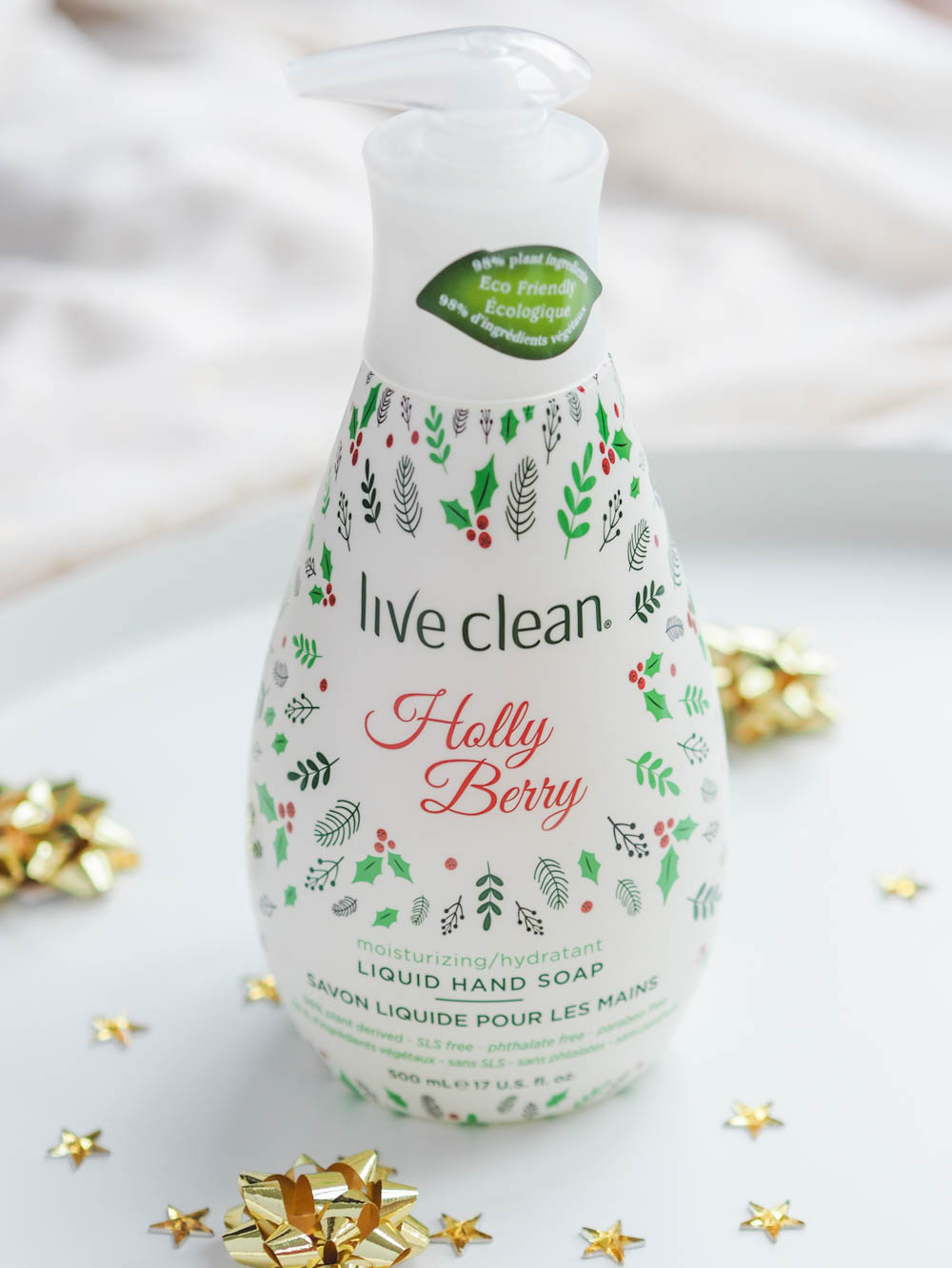 Live Clean Holiday Hand Soaps Review
