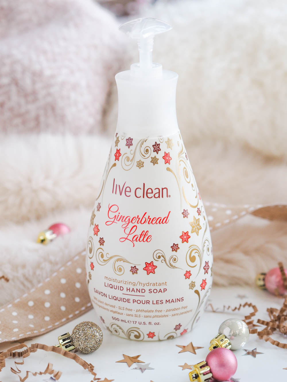 Live Clean Gingerbread Latte Hand Soap Review